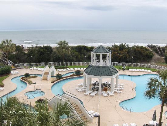 Litchfield Beach Golf Resort View From Bridgewater 317 Balcony
