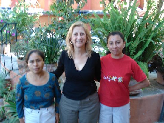 Arcos Del Atascadero: Patricia and staff