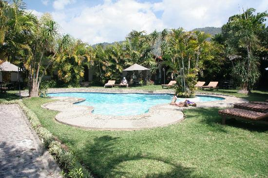 Hotel Dos Mundos: The pretty grounds and pool