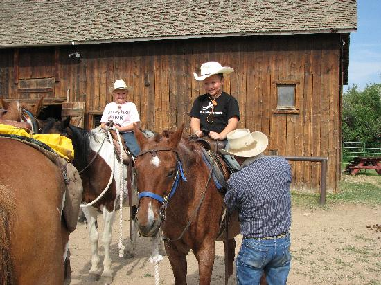 Vee Bar Guest Ranch: Saddling up for the ride...