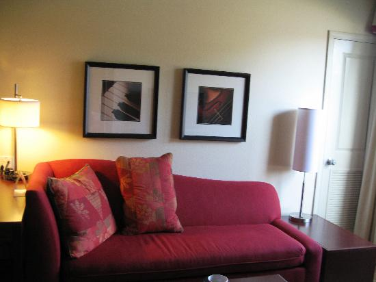Residence Inn Lafayette Airport: living room