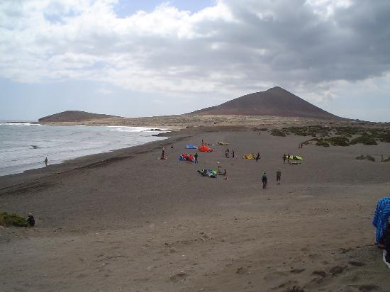 El Medano Hotel: surfers beach soth medano