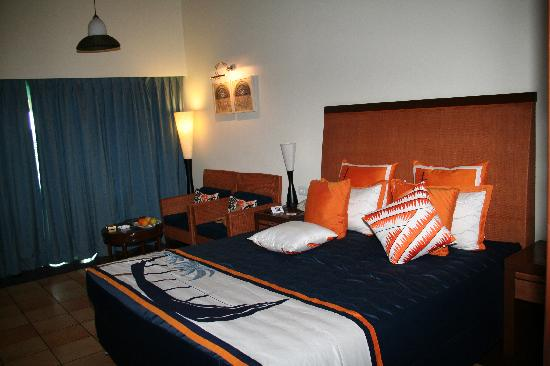 The Zuri Kumarakom: Our bedroom