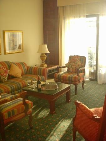 Jordan Valley Marriott Resort & Spa : Hotel livingroom