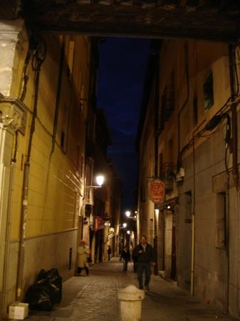 Pension Ferri: The street it is located on