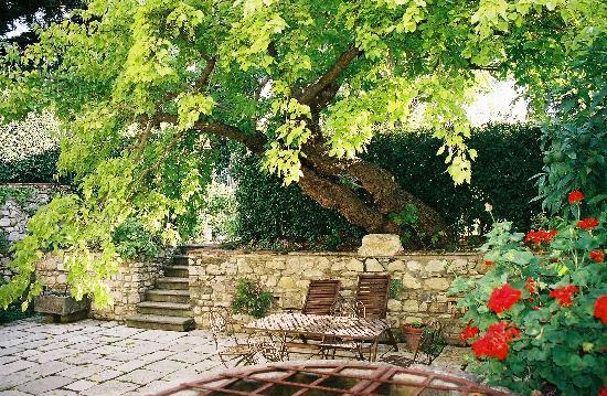 Villa Il Paradisino: Our Private Patio area