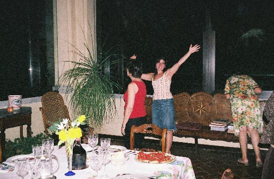 Villa Il Paradisino: Costanza - the proprieter and her mother- Wonderful People
