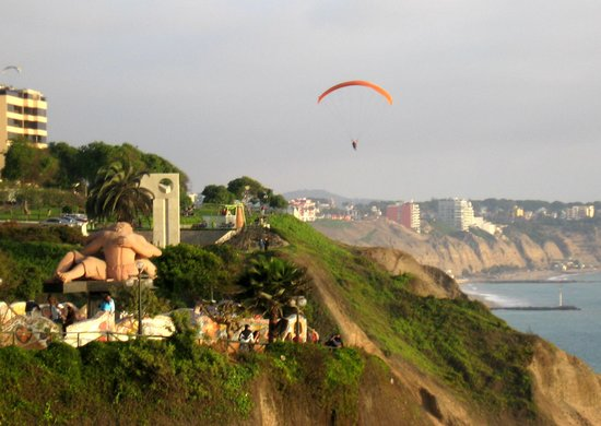 Lima, Peru: Soaring high above like a bird