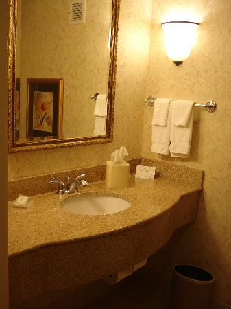 Hilton Garden Inn Corvallis: the WC