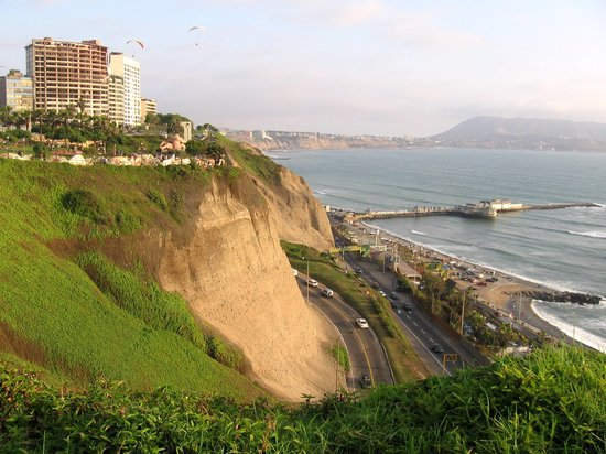 Lima, Peru: Views of the Cliffs
