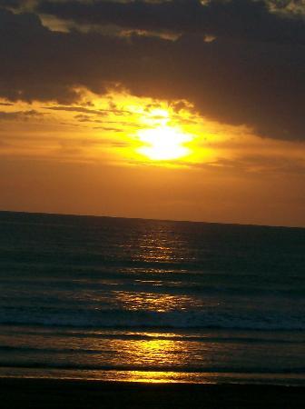 Une des photos de couchés de soleil à Jaco Beach (4 minutes de Villas Estrellamar)