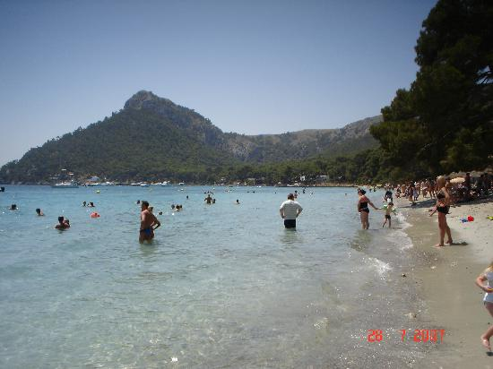 Playa de Muro, Spain: Beach at Formentor