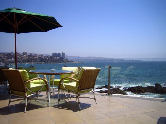 Sheraton Miramar Hotel & Convention Center: The terrasse on the Ocean
