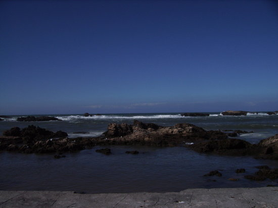 Essaouira, Marocko: The coast