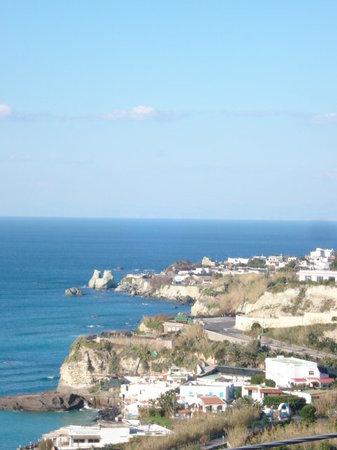 Isola d'Ischia, İtalya: View of Mediterranean