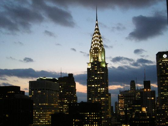 Chrysler Building at Night - Picture of ONE UN New York ...