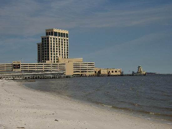 View From Just Down The Beach Picture Of Beau Rivage Resort