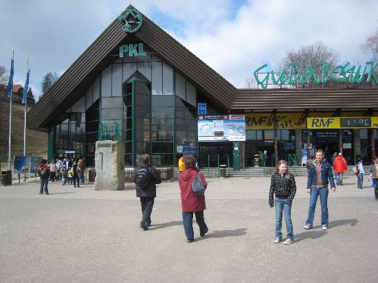 Apartamenty Tatra: Gubalowka station