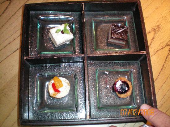 Padma Resort Legian: Afteroon tea delivered to your room