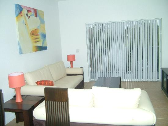 SunLake Condominiums Resort: front view of living room