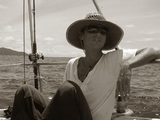 Island Cruises Sailing: Thanx for a grat day Captain Sash