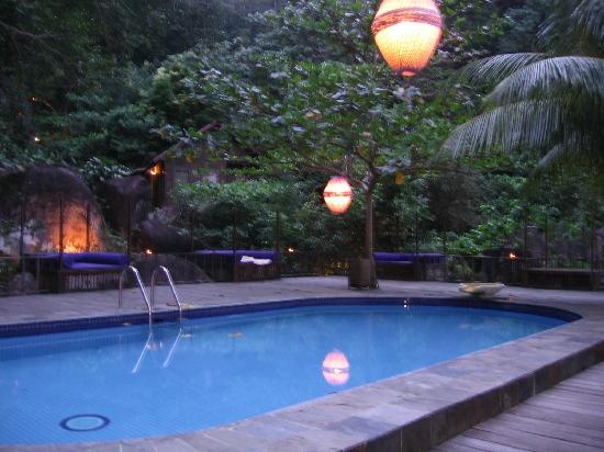 Japamala Resort - By Samadhi: Swimming pool - not so huge