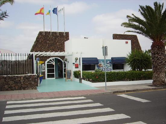 Nautilus Lanzarote: complex entrance