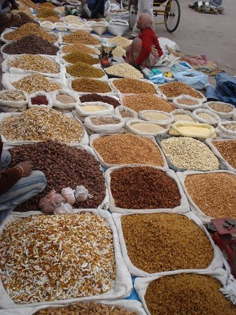 New Delhi, India: spices