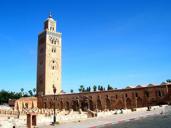 Marrakech, Morocco: Minaret