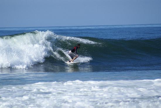 Nexpa Beach: Surfing