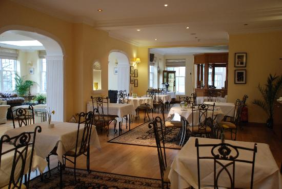 Losehill House Hotel & Spa: Restaurant