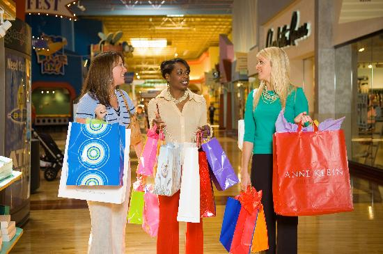 Concord Mills Mall Friends Shopping At
