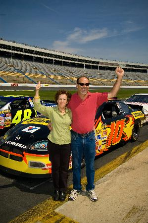 School bus race at summer shootout picture of charlotte for Charlotte motor speedway condo rental
