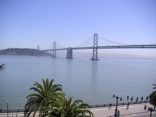 Harbor Court Hotel: View of the Bridge by Day (From Room)