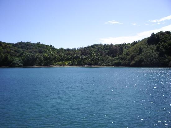 Islas Secas, Panama: dia de playa