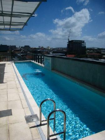 Emporium Hotel: Pool view