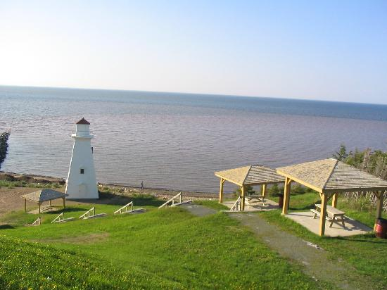 quiet Caraquet, New Brunswick, Canada