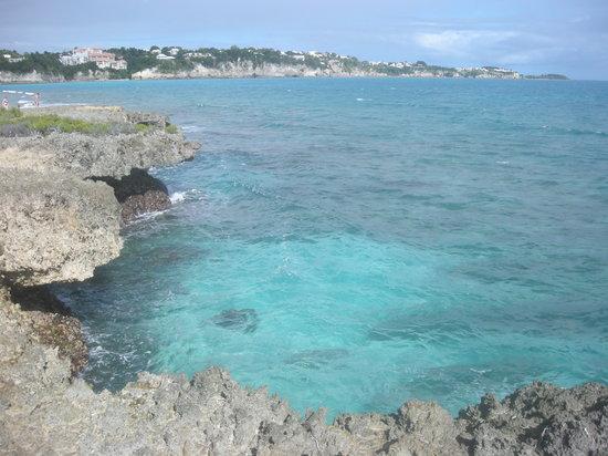 Gosier, Guadeloupe: Sur les rochers