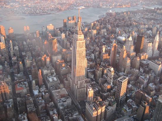 Hampton Inn Manhattan-Times Square North: New york vue de haut