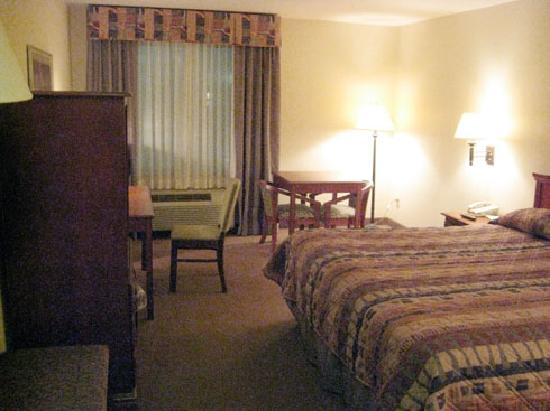 BEST WESTERN PLUS Panhandle Capital Inn & Suites : Room was clean and sufficient