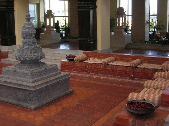 Hyatt Regency Kathmandu : Temple Court-Reception