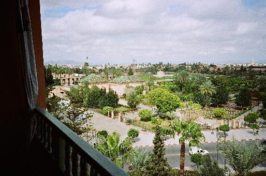 La Mamounia Marrakech: view from room