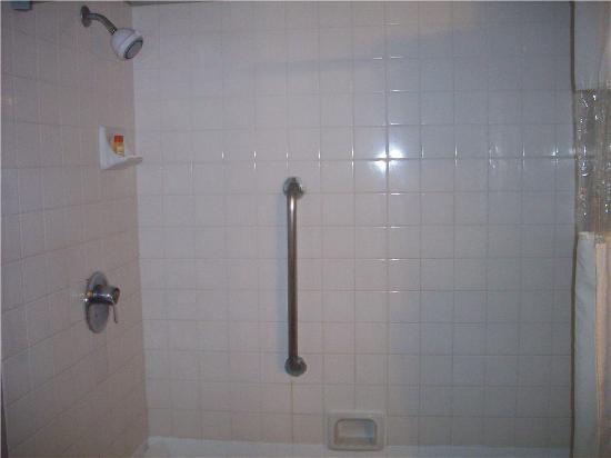 Hills Garden Hotel San Bernardino: Shower