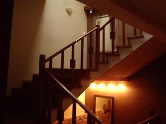 Sleza Pension: Staircase