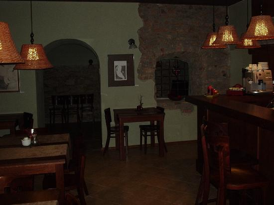 Sleza Pension: Bar / dining room