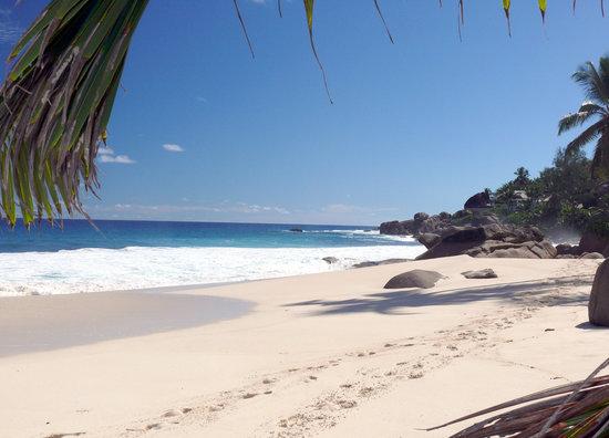 Takamaka, Seychellene: La plage du Banyan Tree