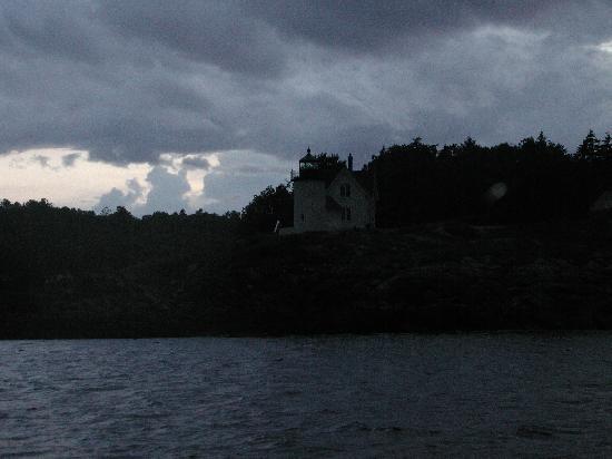 Schooner Appledore II Windjammer Cruise: Curtis Island lighthouse