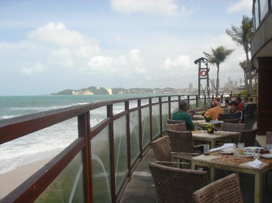 SERHS Natal Grand Hotel: Bar de playa
