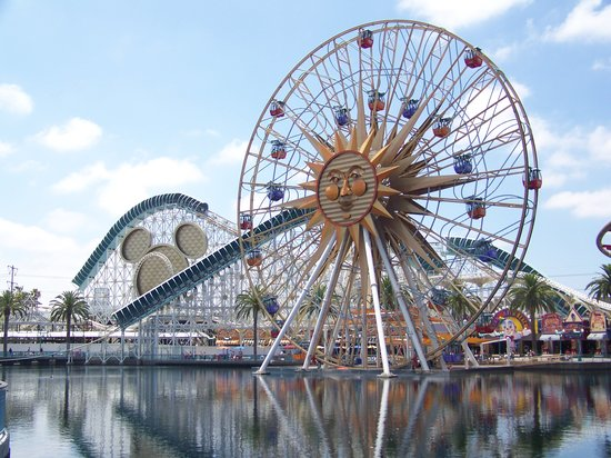 Anaheim, Kalifornia: California Adventure