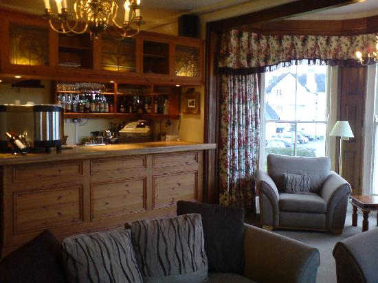 The Cafe - Porlock Weir: Bar